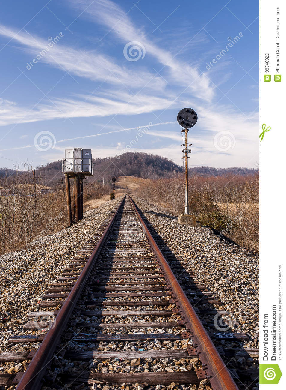 Abandoned Railroad Signal.