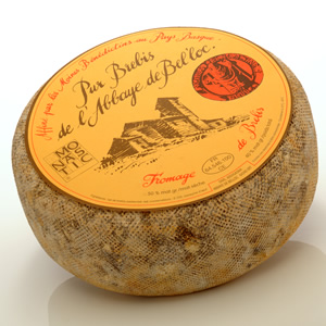 Abbaye De Belloc 9# (P) by Imported Cheeses: France.