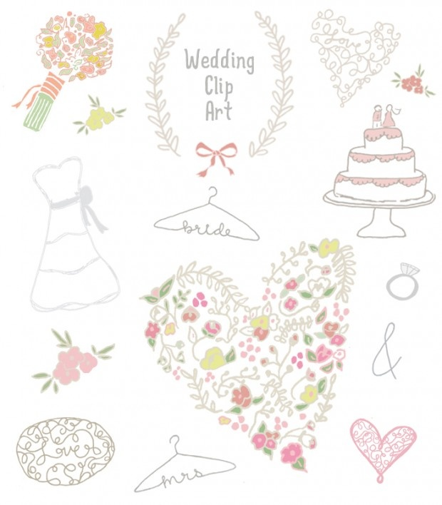 1000+ images about WEDDING: Clipart on Pinterest.
