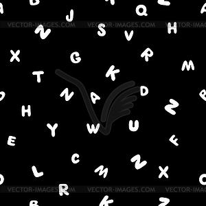 ABCD pattern black.