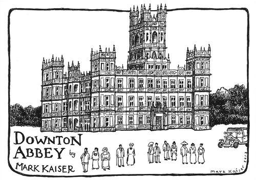 Downton abbey clipart.