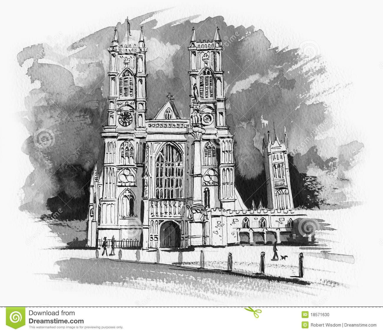 Abbey Stock Illustrations.