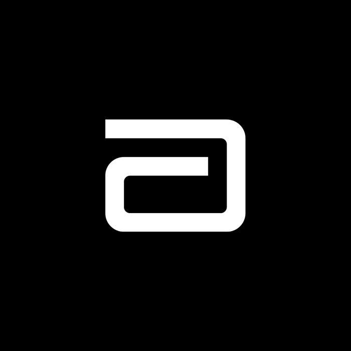 LogoArchive: Abbott Laboratories by Don Ervin, 1956. #logo.