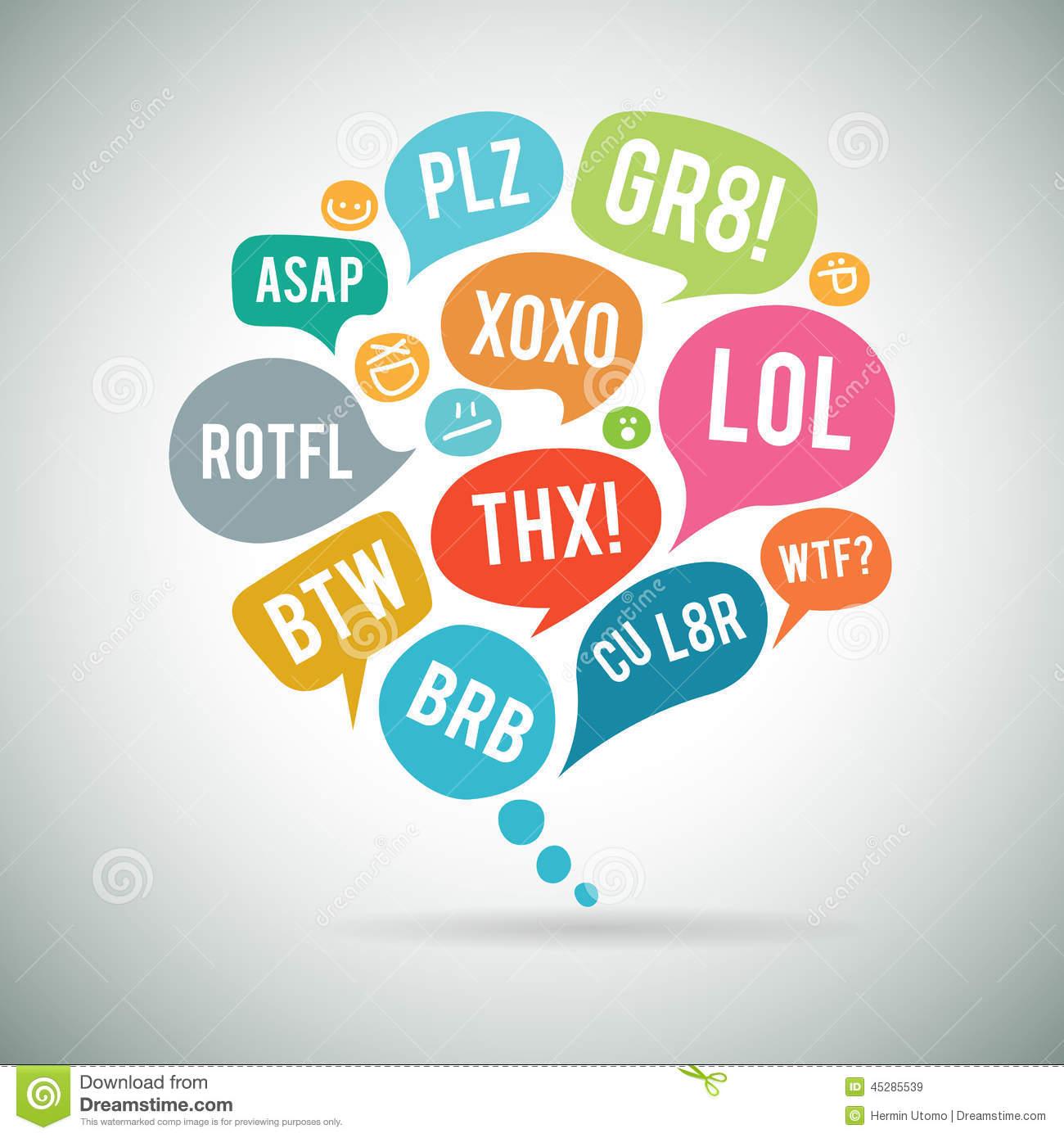 Abbreviations Clip Art.
