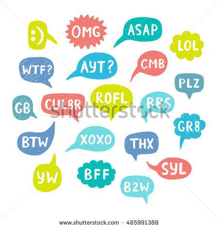 Abbreviations Stock Photos, Royalty.