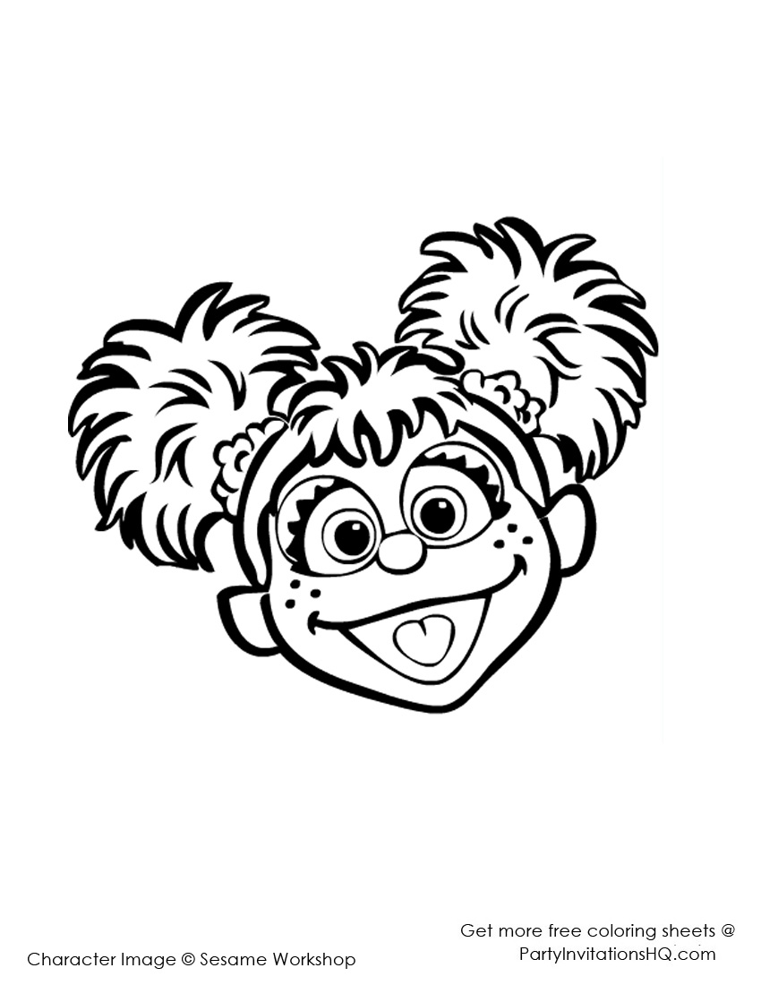 Abby Cadabby Printable Coloring Pages free image.