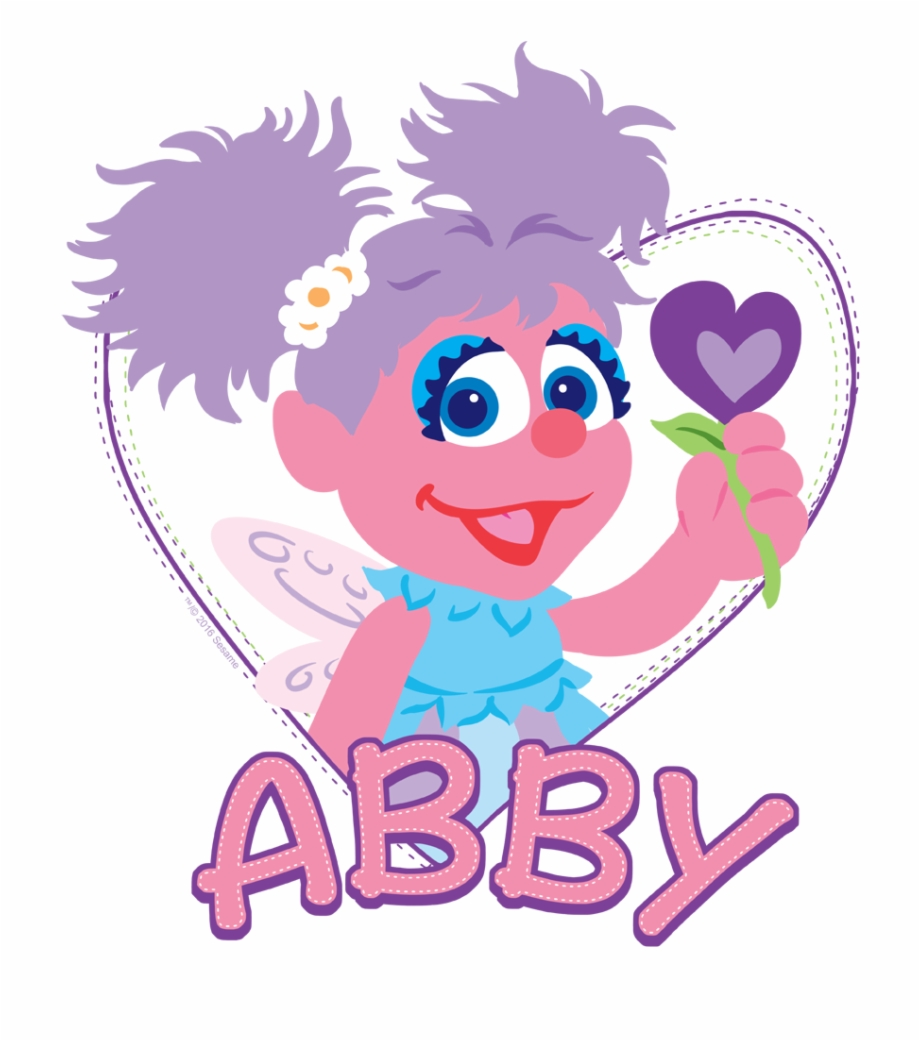 Sesame Street Flat Abby Baby Bodysuit.