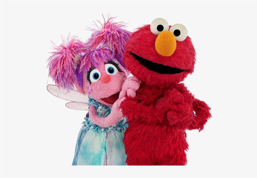 Sesame Street Characters Abby Cadabby And Elmo Will.
