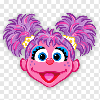 Pink fairy illustration, Abby Cadabby Sesame Street Elmo Big.