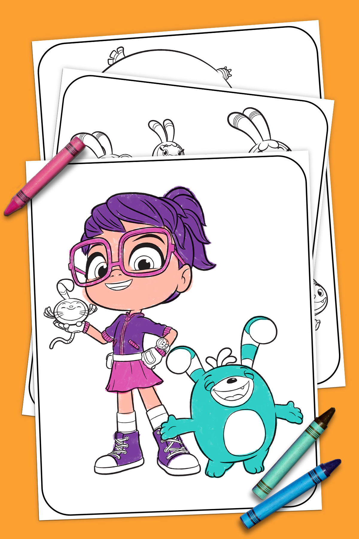 Abby Hatcher Coloring Pages in 2019.