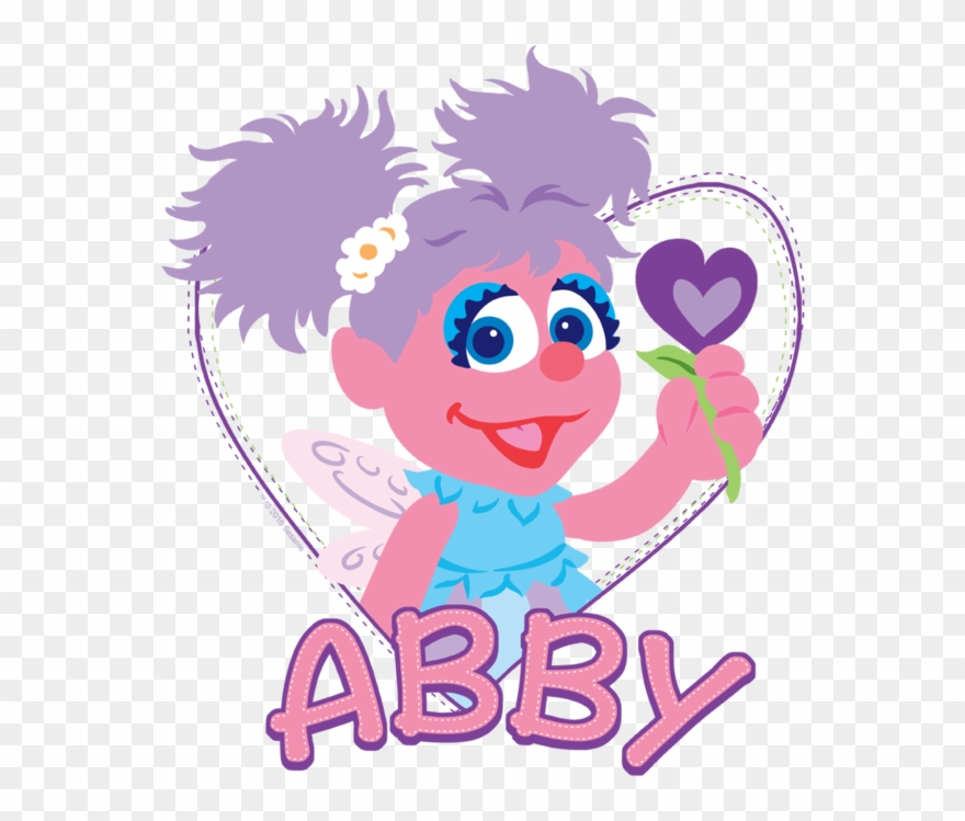 Sesame Street Abby Clipart.