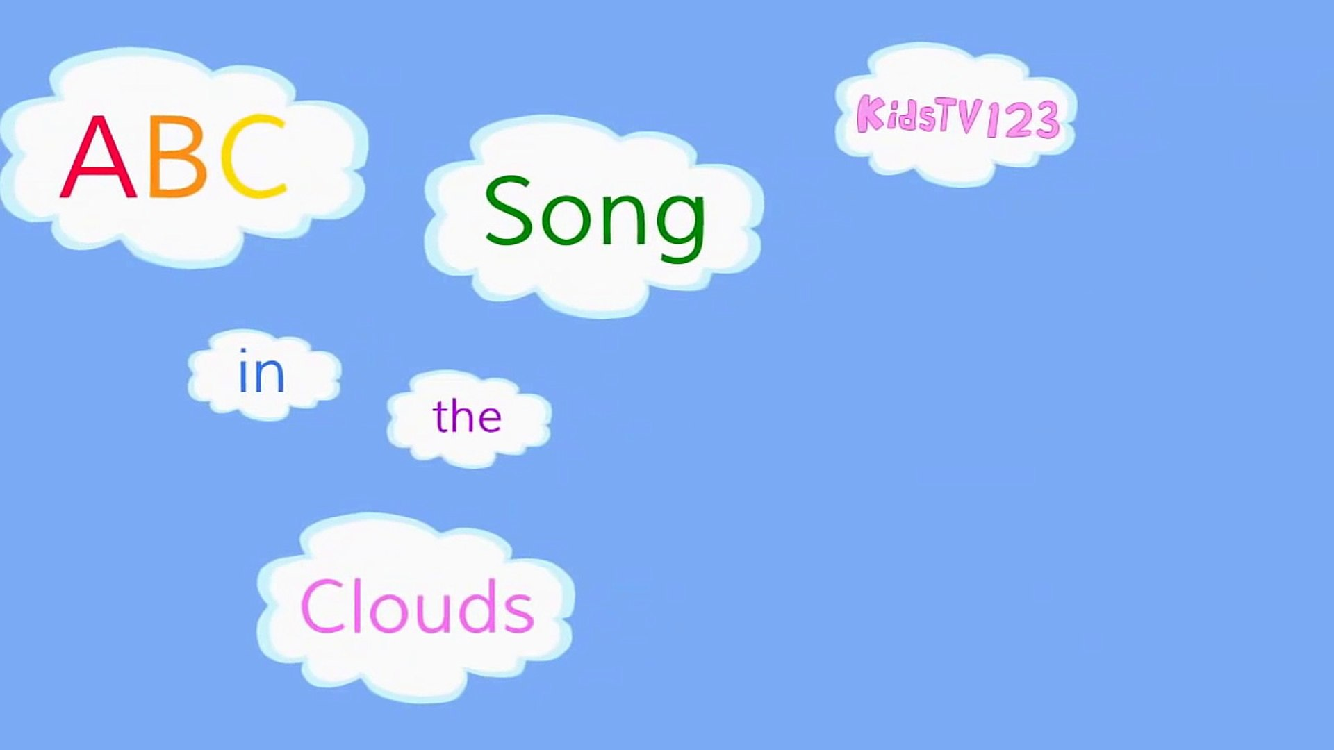 ABC Song in the Clouds (ZED version).
