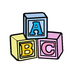 Abc clipart baby block, Abc baby block Transparent FREE for.
