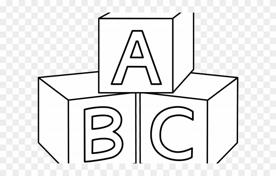 Abc Blocks Clipart.