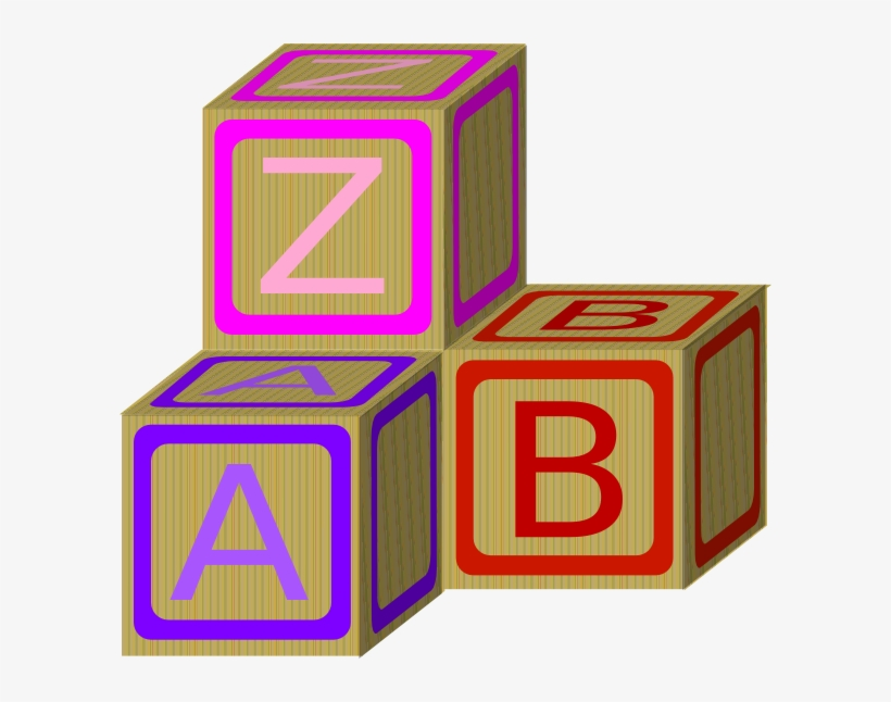 Baby Blocks Abc 2 Clip Art At Clker.