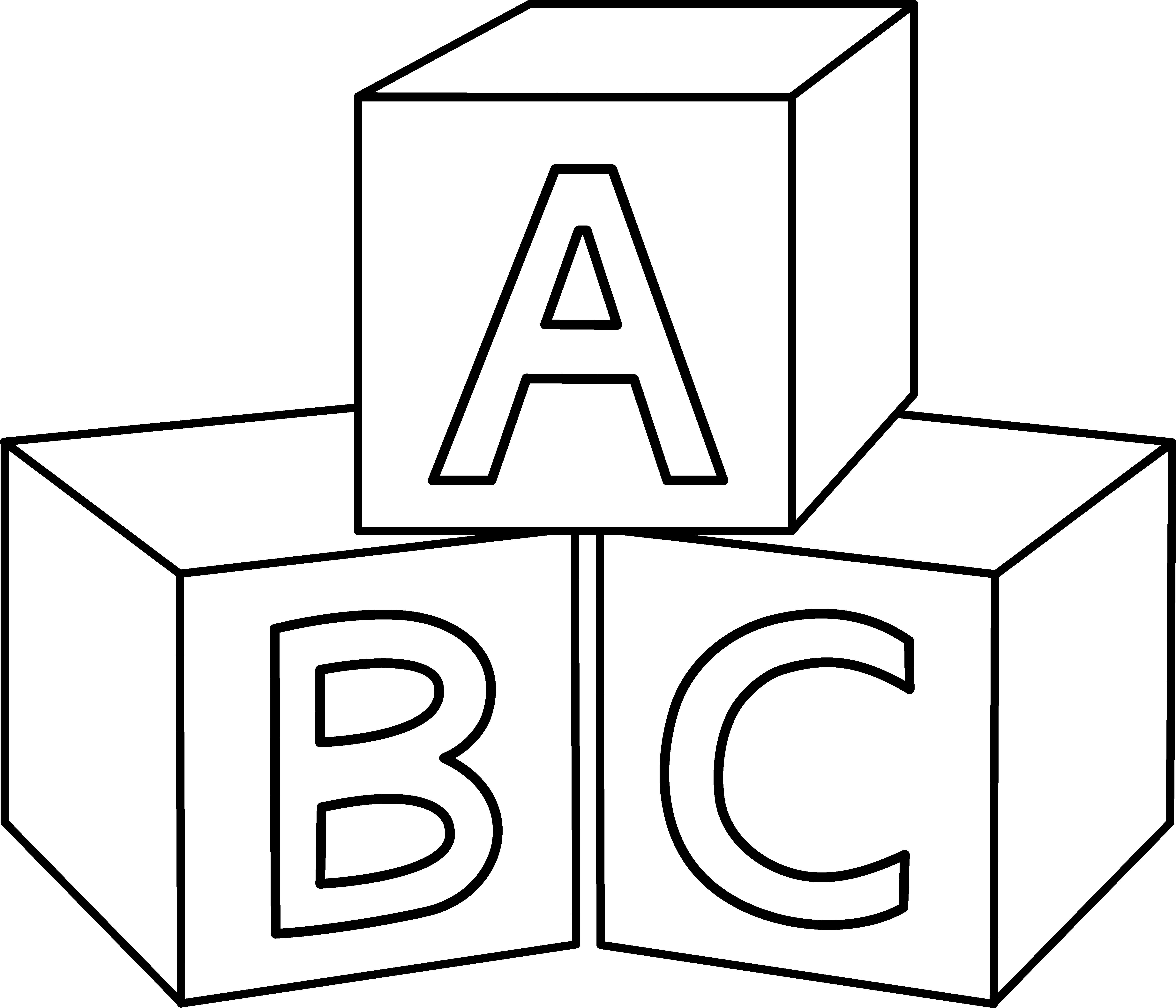 ABC Blocks Design.