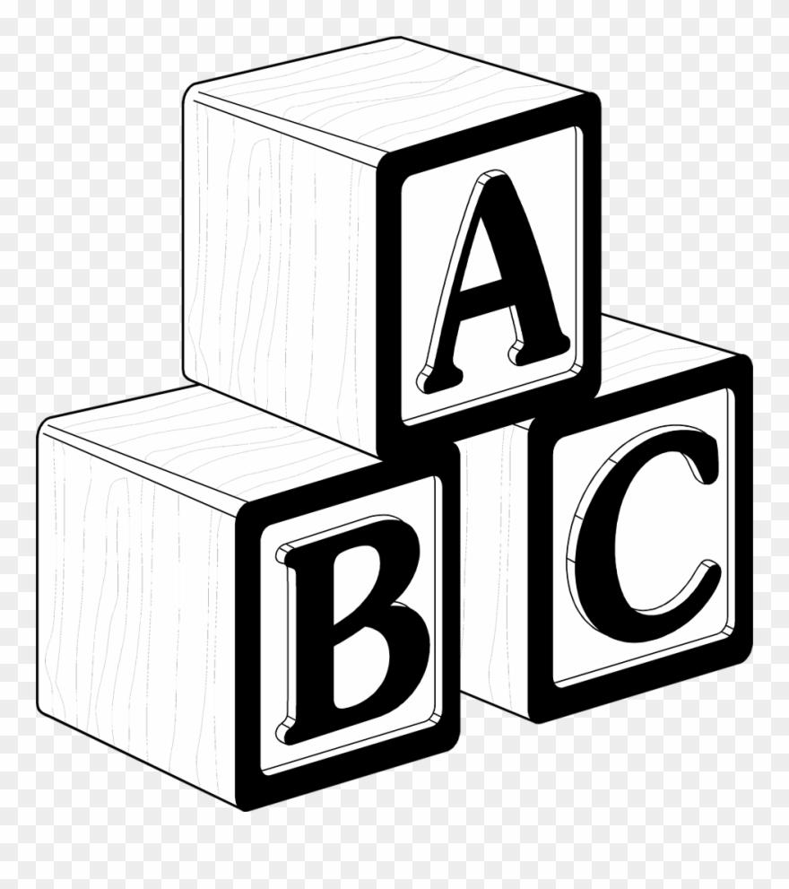Blocks Clipart Black And White.