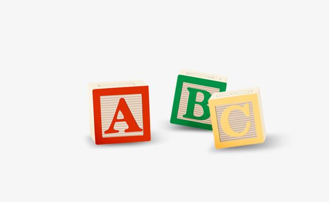 Abc Alphabet Blocks Color, Abc, Color, Letter PNG Transparent.