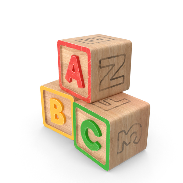 Abc Blocks PNG Images & PSDs for Download.