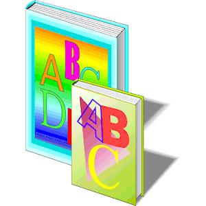 ABC Book clipart, cliparts of ABC Book free download (wmf.