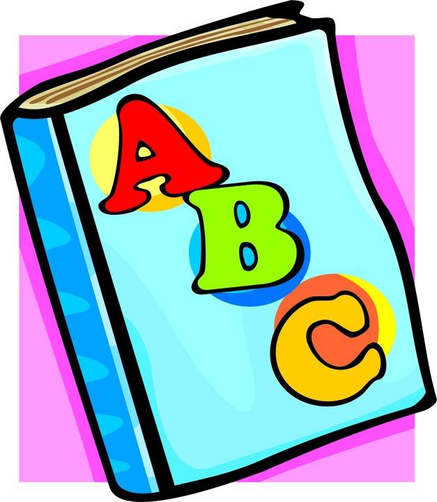 Abc Book Clipart.