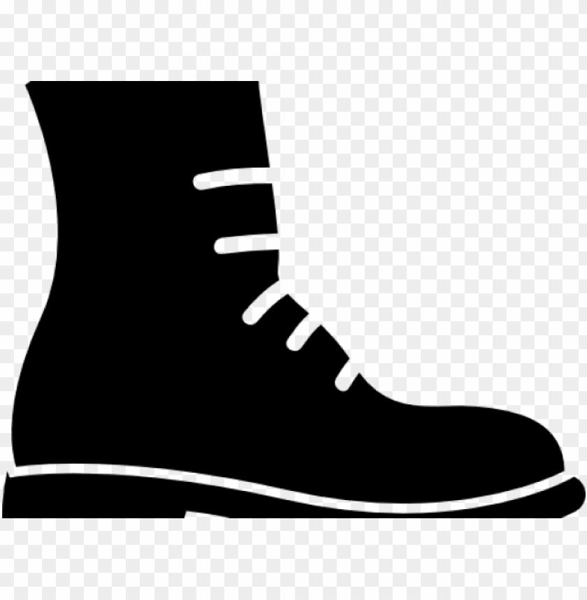 boots clipart combat boot.