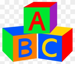 Free PNG Abc Blocks Clip Art Download.