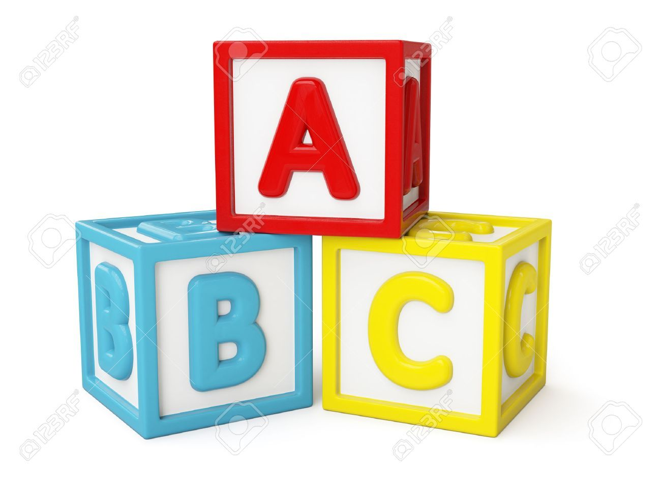 Abc building blocks clipart 3 » Clipart Portal.
