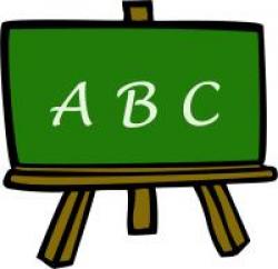 Blackboard clipart abc, Picture #279817 blackboard clipart abc.