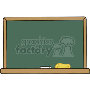 School Chalk Board With Text ABC\'s and Mathematics clipart.
