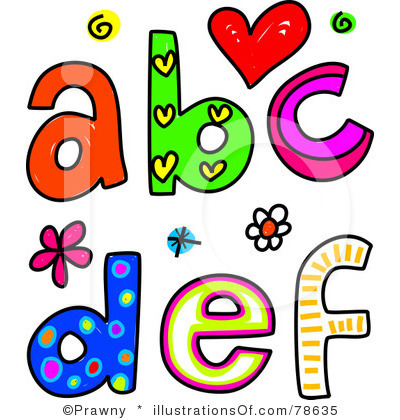 Abc clipart free.