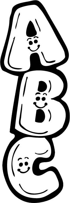 Abc Clipart Black And White (98+ images in Collection) Page 3.