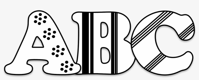 Picture Royalty Free Download Abc Blocks Clipart Black.