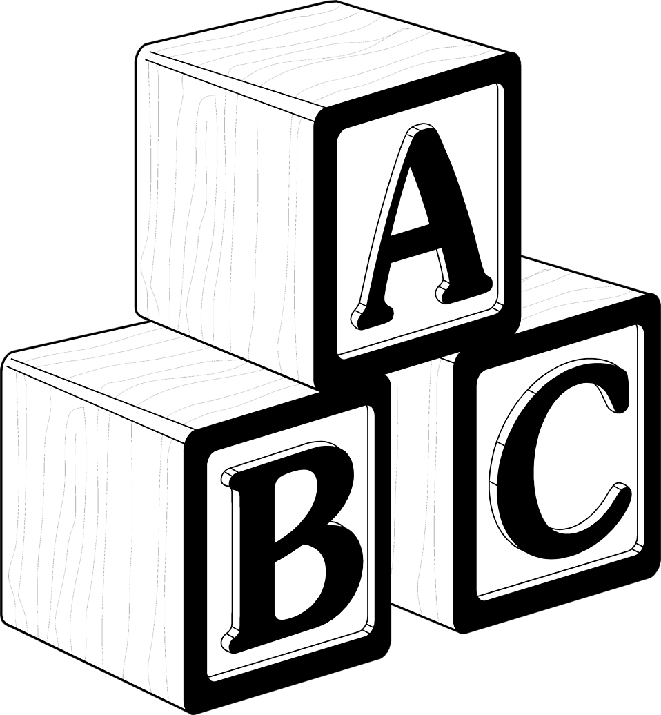 Free Abc Black And White Clipart, Download Free Clip Art, Free Clip.
