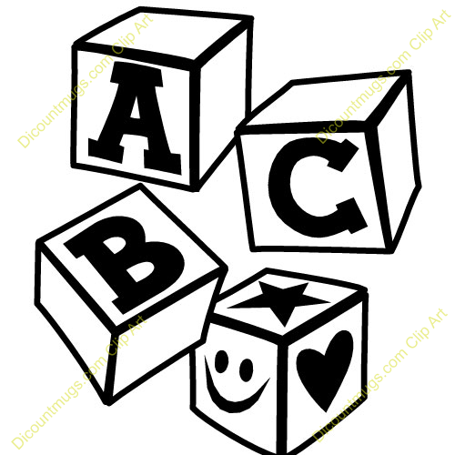Abc clipart black and white 2 » Clipart Station.