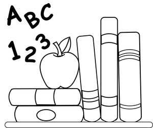 book worm Coloring Pages.