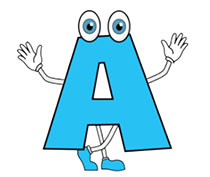 Alphabets Animated Clipart.