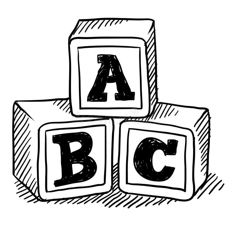 281 Abc Blocks free clipart.