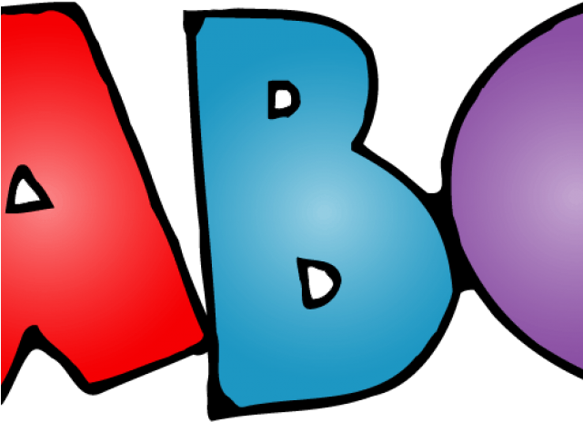 Transparent Abc Clip Art , Transparent Cartoon.