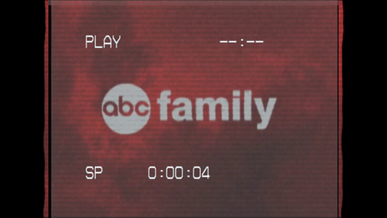 ABC Family Logo In VHS.