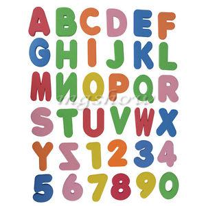 36x Children Baby Kids ABC 123 Foam Letters numbers Bath Tub.