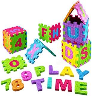Amazon.com: ABC Alphabet Foam Floor Puzzle Mat: Toys & Games.