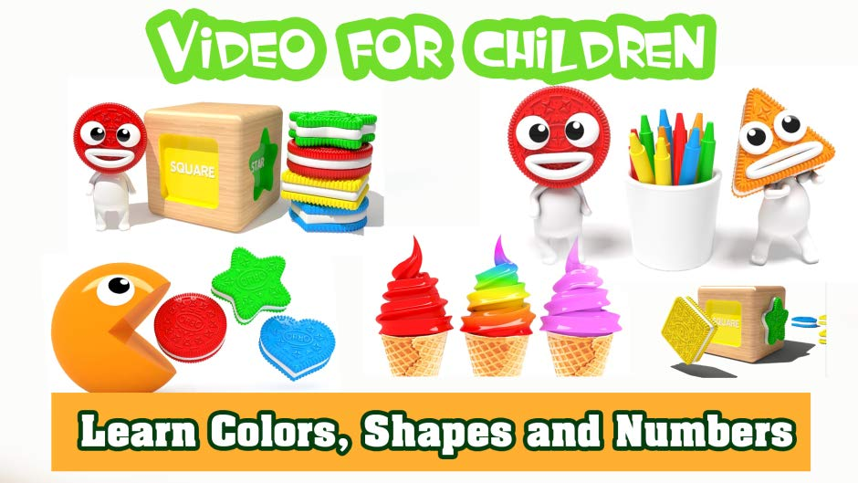 Amazon.com: Learn Colors, Shapes and Numbers.