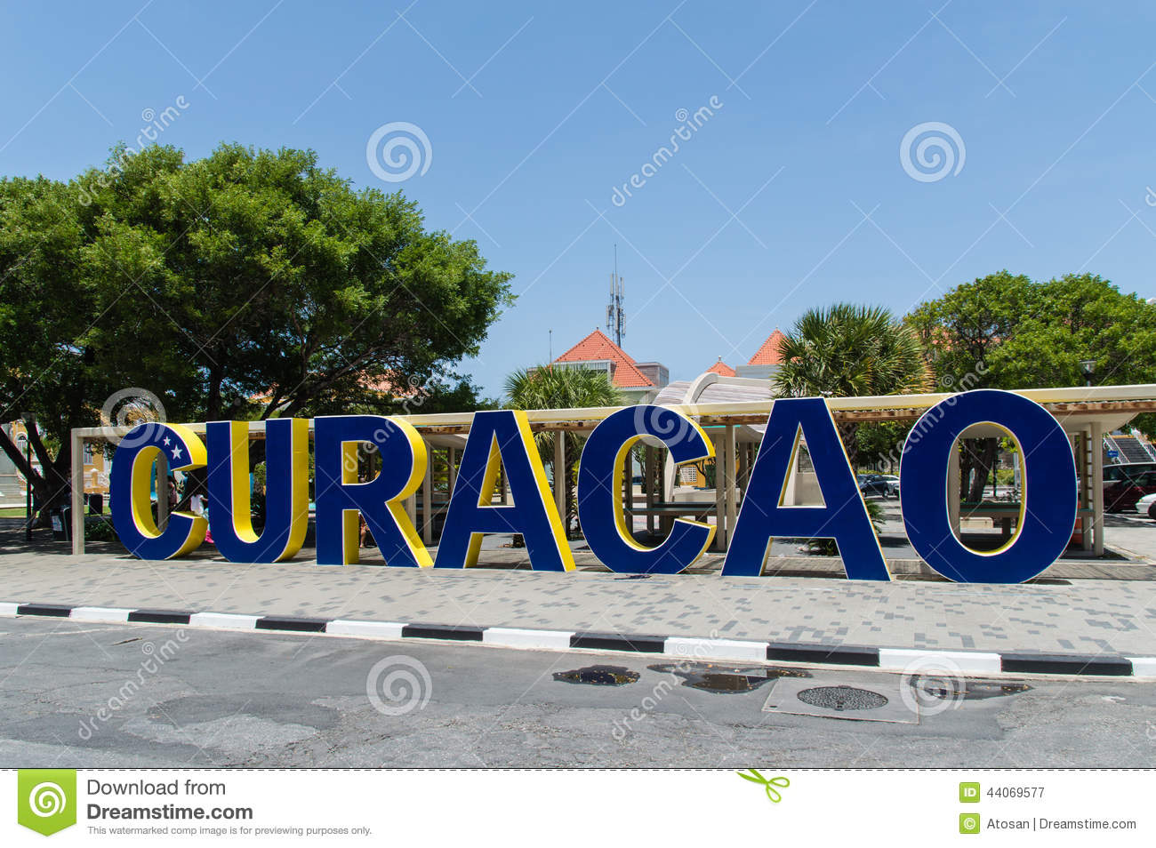 Willemstad, Curacao, ABC Islands Editorial Stock Image.