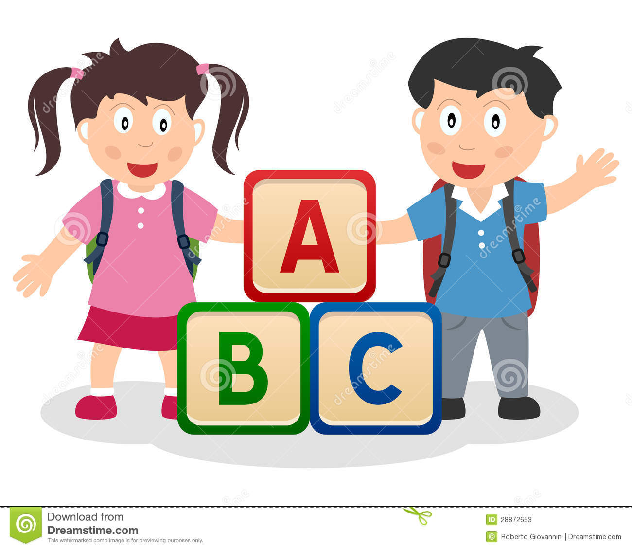281 Abc Blocks free clipart.