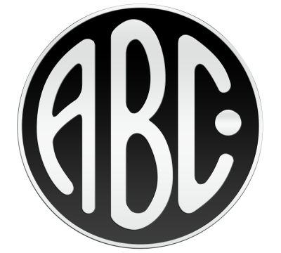 ABC motorcycle logo history and Meaning, bike emblem.