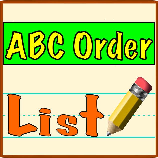Abc Order Clipart.