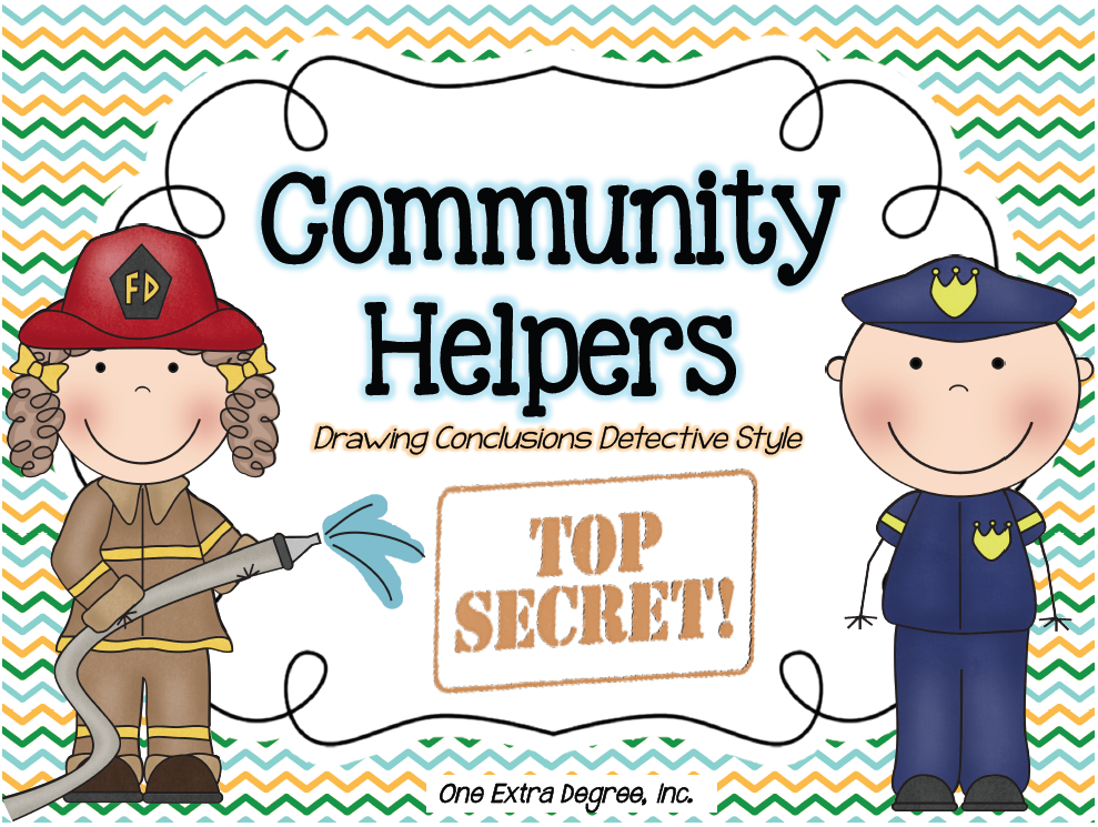 Top Secret: Community Helpers and a FREEBIE!.