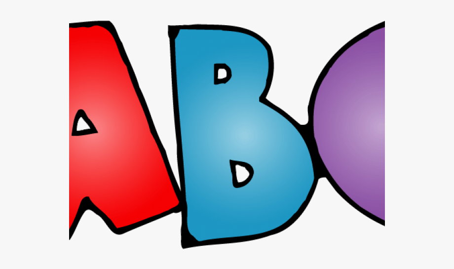 Transparent Abc Clip Art, Cliparts & Cartoons.