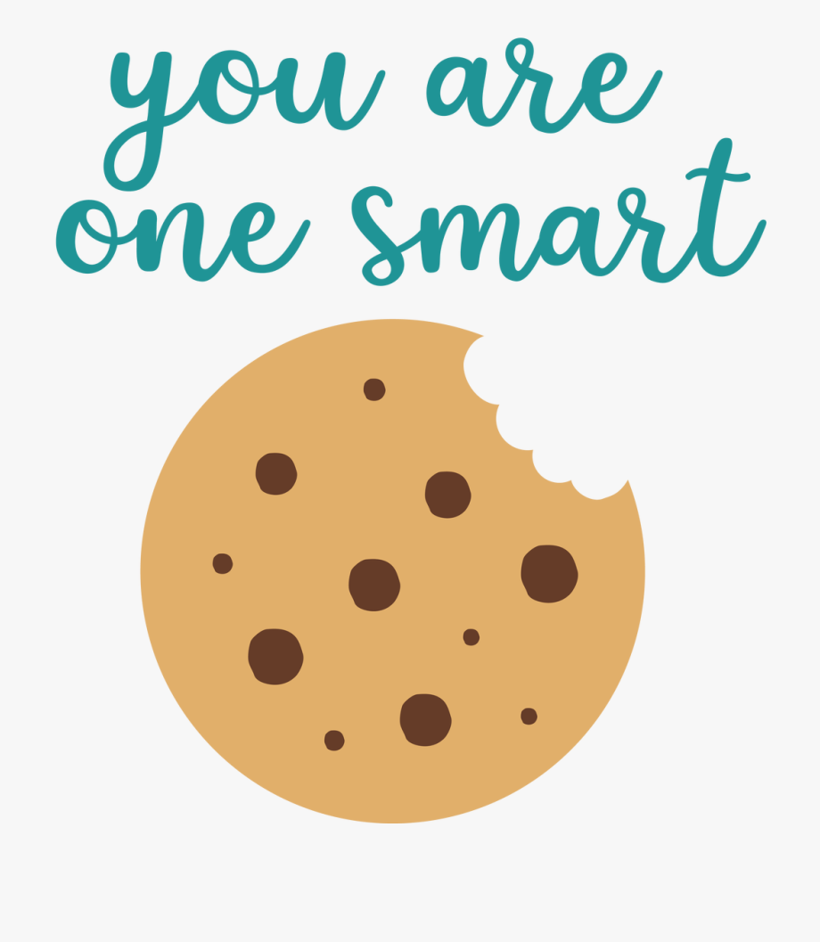 Smart Cookie Svg Cut File.